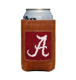 SMATHERS & BRANSON ALABAMA COLLEGIATE NEEDLEPOINT CAN COOLER