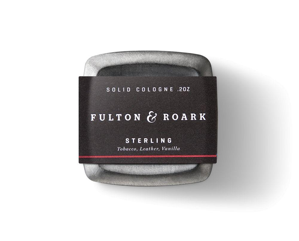 FULTON & ROARK STERLING SOLID COLOGNE