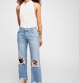FREE PEOPLE MAGGIE MR STRAIGHT JEAN