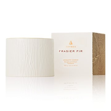 THYMES FRASIER FIR GILDED CERAMIC PETITE CANDLE