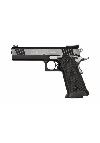 SPS Pantera 9mm Pistol 21 Round Black Chrome Finish