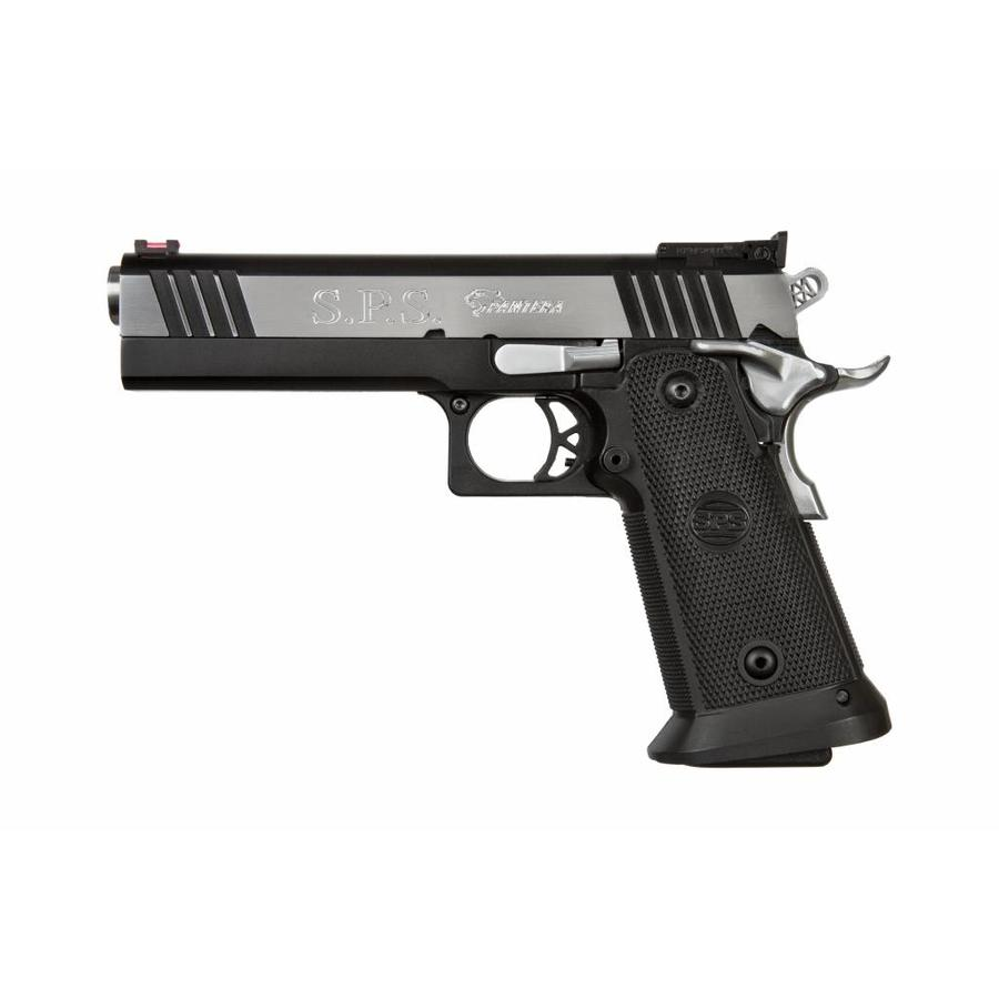 SPS Pantera 9mm Pistol 21 Round Black Chrome Finish