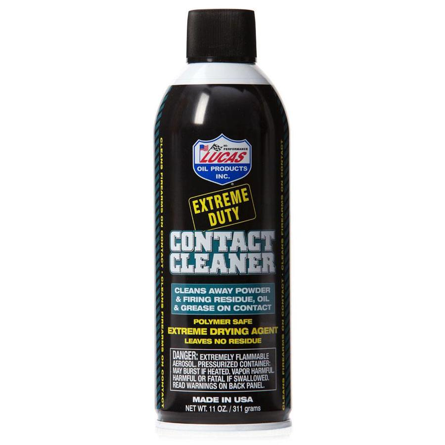 Lucas Oil Extreme Duty Contact Cleaner 11oz Aersol Can