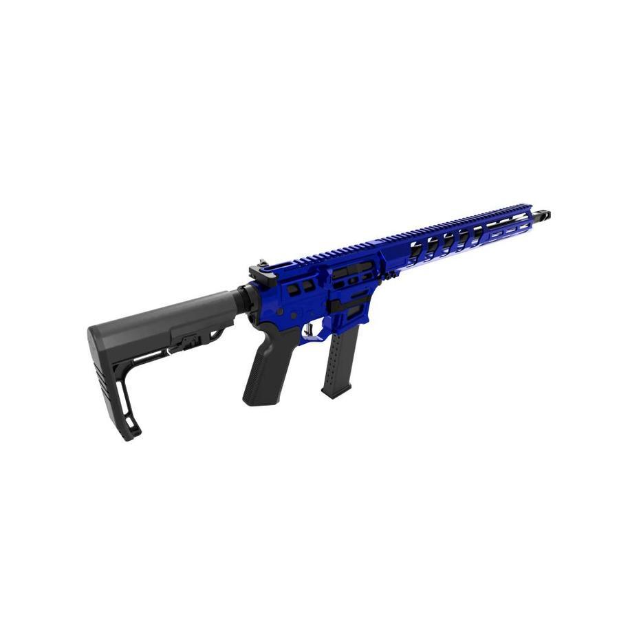 "Lead Star Arms LSA-9 Skeletonized Barrage Rifle w/ 15""Handguard"