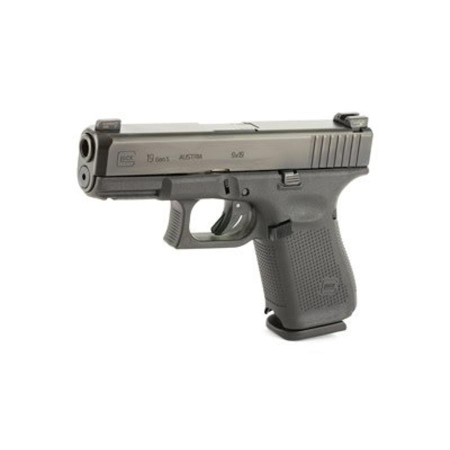 Glock 19 Gen 5 w/ Amerigold Night Sights