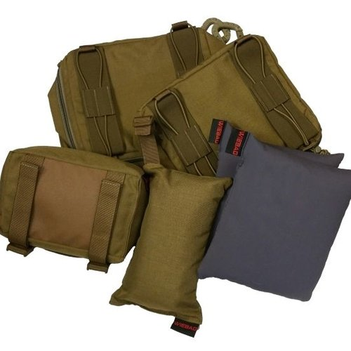 Bipods, Shooting Bags, and Mats