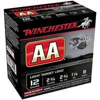 Winchester AA 12ga 2.75 #8 1-1/8oz 1145fps