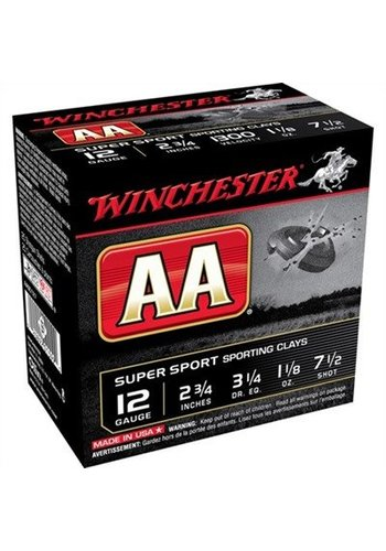 Winchester AA 12ga 2.75 #7 1/2 1-1/8oz 1300fps-Case