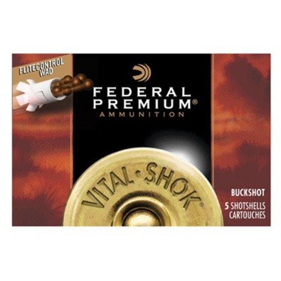 "Federal Vital Shok w/ Flitecontrol 12ga 2.75"" 9 Pel  #00"