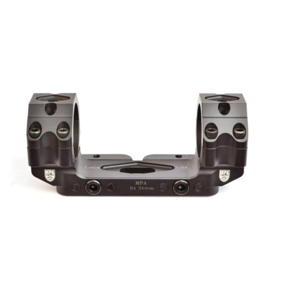 Masterpiece Arms Bolt Action One Piece Optic Mount- 34mm