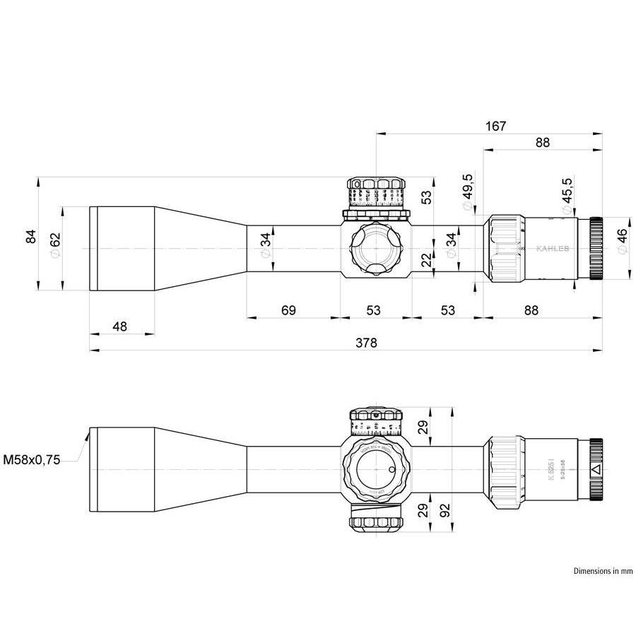 Kahles K525i 5-25x