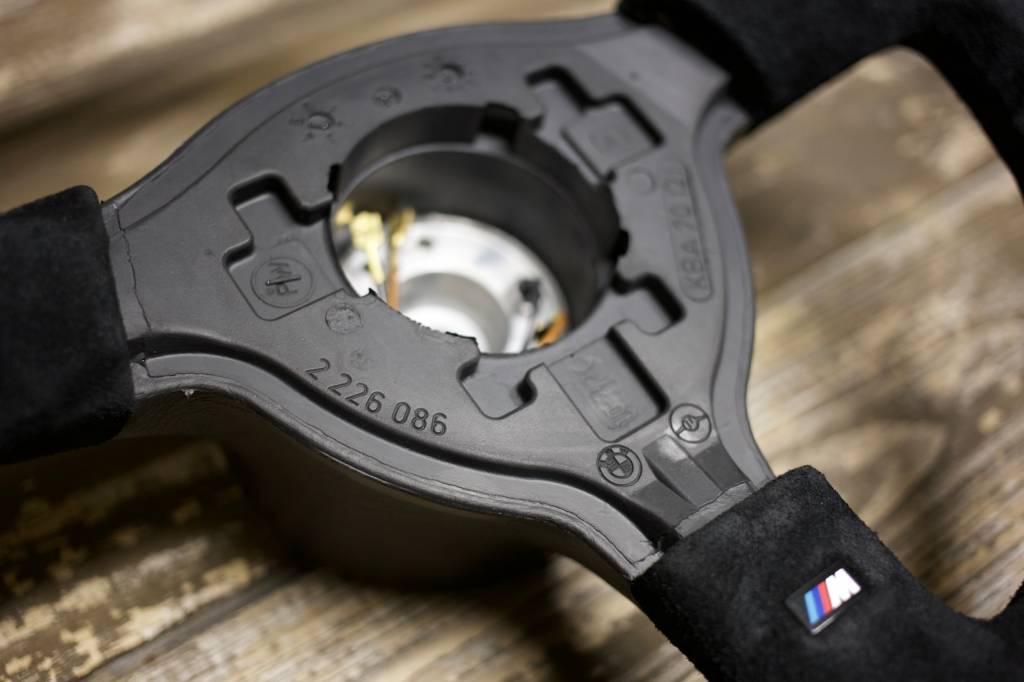 BMW Alcantara M-Tech II Steering Wheel - 370mm