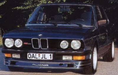 Alpina E28 Alpina Type 654 Front Spoiler
