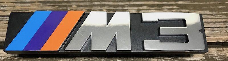 BMW BMW OEM E30 M3 Front Badge