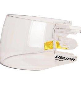 Bauer Hockey BAUER HDO PRO CLIP VISOR STRAIGHT CLEAR
