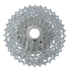 Shimano 6 rings on spider (3+3 structure) Finish: chrome Compatible only with HG-X 10-speed chain