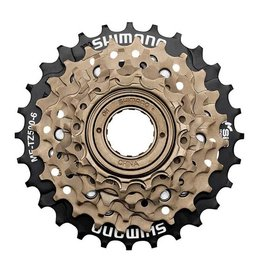 Shimano SHIMANO freewheel 6 spd. SPIN ON MF-TZ500 - 14/28t