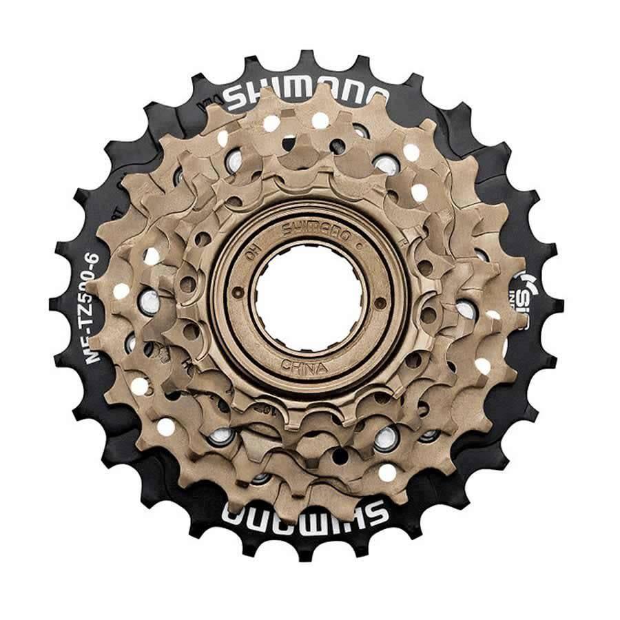 Shimano SHIMANO freewheel 6 spd. SPIN ON MF-TZ500 - 14/28t