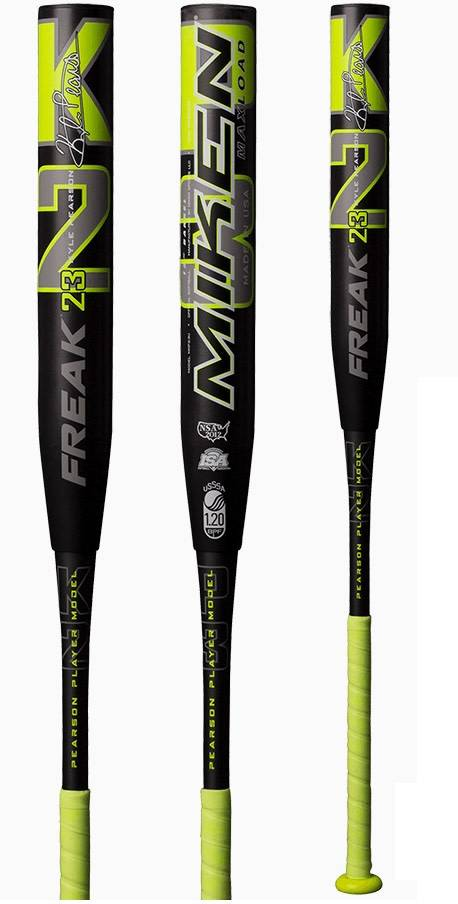 "Miken 2019 MIKEN FREAK 23 12.5"" SLOWPITCH SOFTBALL BAT USSSA"
