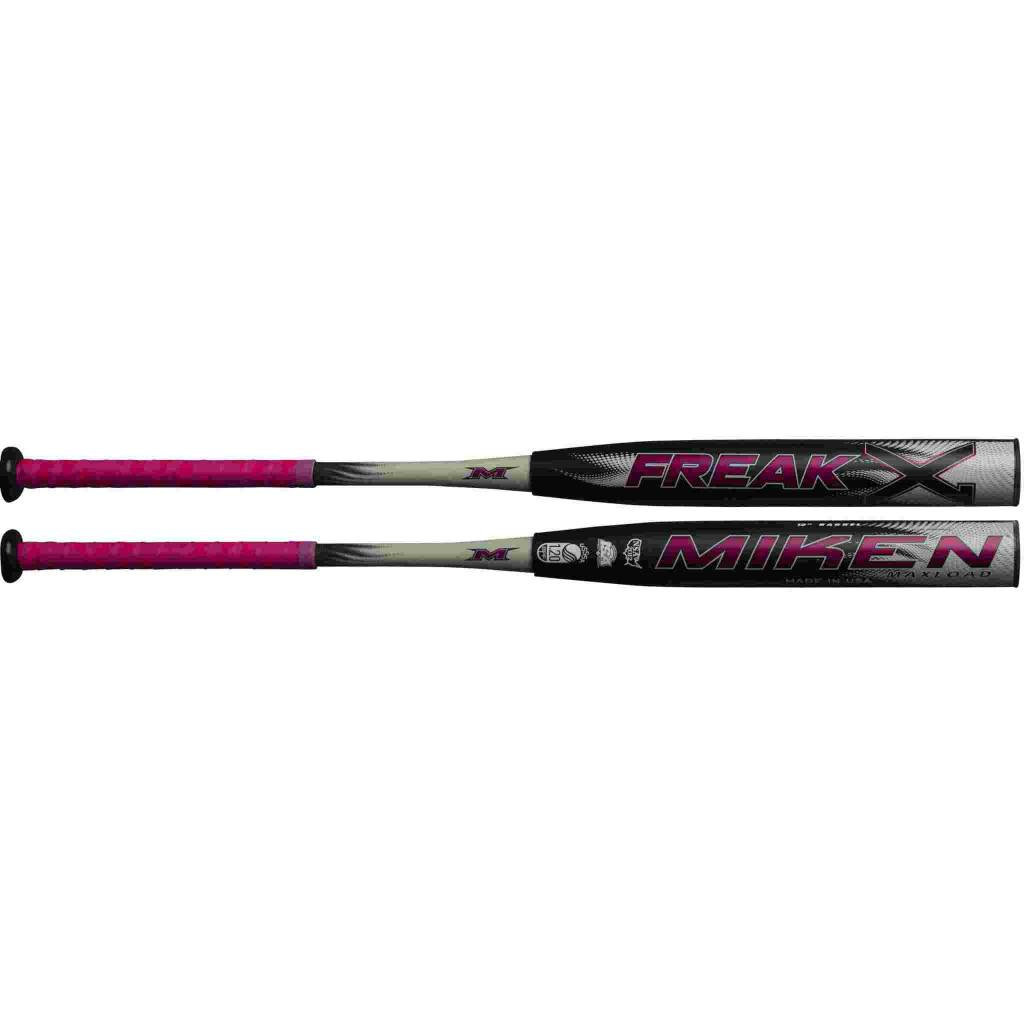 "Miken 2019 MIKEN FREAK X 12"" SLOWPITCH SOFTBALL BAT USSSA"