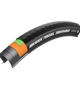 Kenda Kenda, Kwick Tendril, Tire, 700x35C, Folding, Clincher, SRC, CAP2, 60TPI, Black