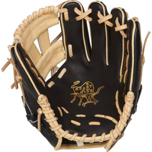 Rawlings Rawlings HOH R2G 11.25 in Glove Black/Camel 11 1/4 RHT