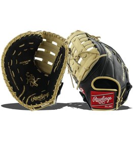 Rawlings Rawlings HOH R2G 12.5 in Glove Black/Camel 12 1/2 LHT