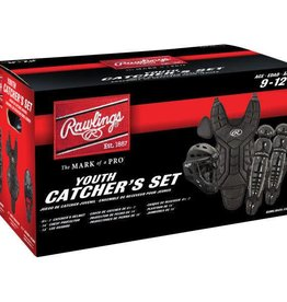 Rawlings RAWLINGS PLAYERS CATCHER SET AGES 9-12 BLACK