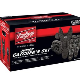 Rawlings RAWLINGS CATCHER SET AGES 9 AND UNDER - BLACK