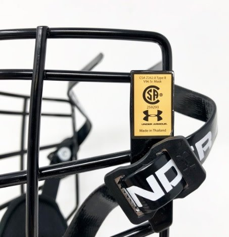 Under Armour UNDER ARMOUR V96 FACE MASK LACROSSE CAGE SENIOR