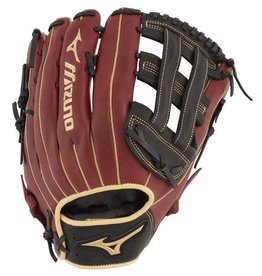Mizuno 2020 MIZUNO BALL GLOVE MVP SLOWPITCH 13 RHT BLACK-CHERRY