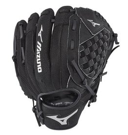 "Mizuno 2019 MIZUNO PROSPECT SERIES POWERCLOSE BASEBALL GLOVE 10.5"" BLACK"