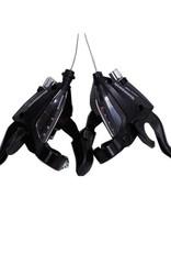 Shimano SHIMANO SHIFT LEVER ST-EF500 3X8 CANTILEVER BLACK SET