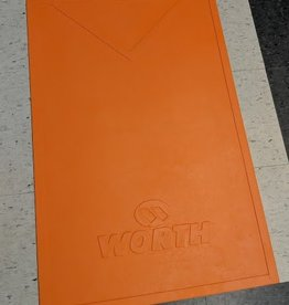 Worth WORTH SLO PITCH MAT ORANGE WSPM