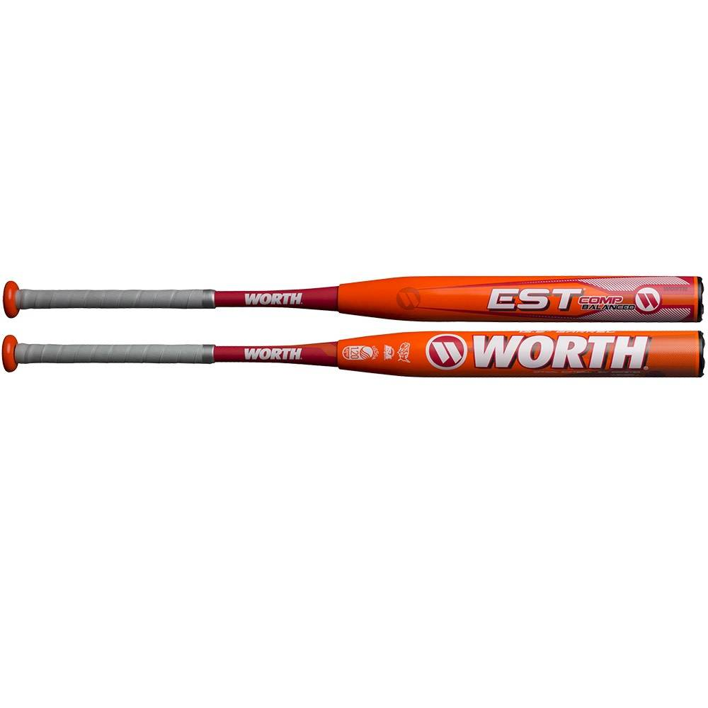 "Miken 2019 WORTH EST 13.5"" COMP SOFTBALL BAT USSSA"