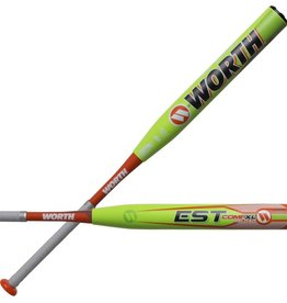 "Miken 2019 WORTH EST 13.5"" XL COMP RL SOFTBALL BAT USSSA"