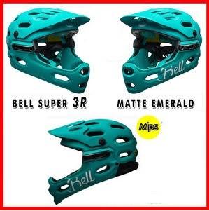Bell BELL SUPER 3R MIPS MAT EMERALD - LARGE
