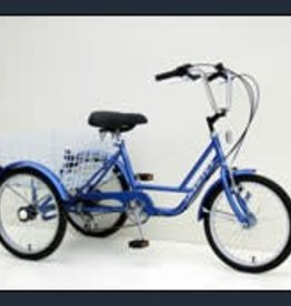 "Genesis Genesis 24"" Tricycle: 6-Speed Freewheel"