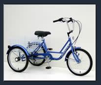 """Genesis Genesis 24"""" Tricycle: 6-Speed Freewheel"""
