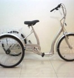"Genesis Genesis 24"" Low Step Tricycle: 6-Speed Freewheel"