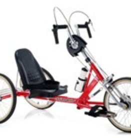 Genesis Hand Powered Recumbent Tricycle Front Wheel Drive,  7-Speed