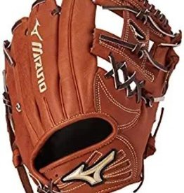 "Mizuno MIZUNO GLOBAL ELITE 11.5"" GGE4BR RH BROWN"