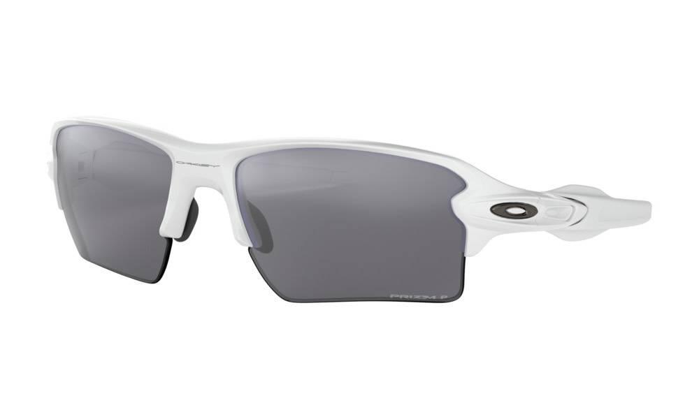 Oakley OAKLEY FLAK 2.0 Polished White w/ Prizm Black Polarized
