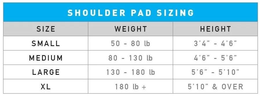 STX STX SP SURGEON 700 SHOULDER PADS