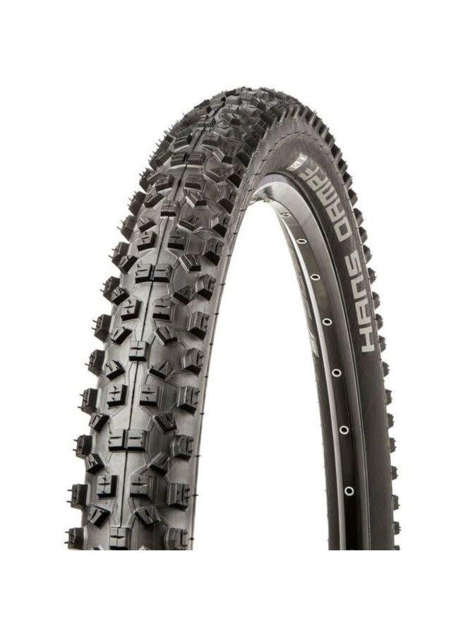 Schwalbe, Hans Dampf, Tire, 27.5x2.35, Folding, Tubeless Ready, Addix Performance, TwinSkin, 67TPI, Black