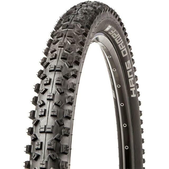Schwalbe Schwalbe, Hans Dampf, Tire, 27.5x2.35, Folding, Tubeless Ready, Addix Performance, TwinSkin, 67TPI, Black