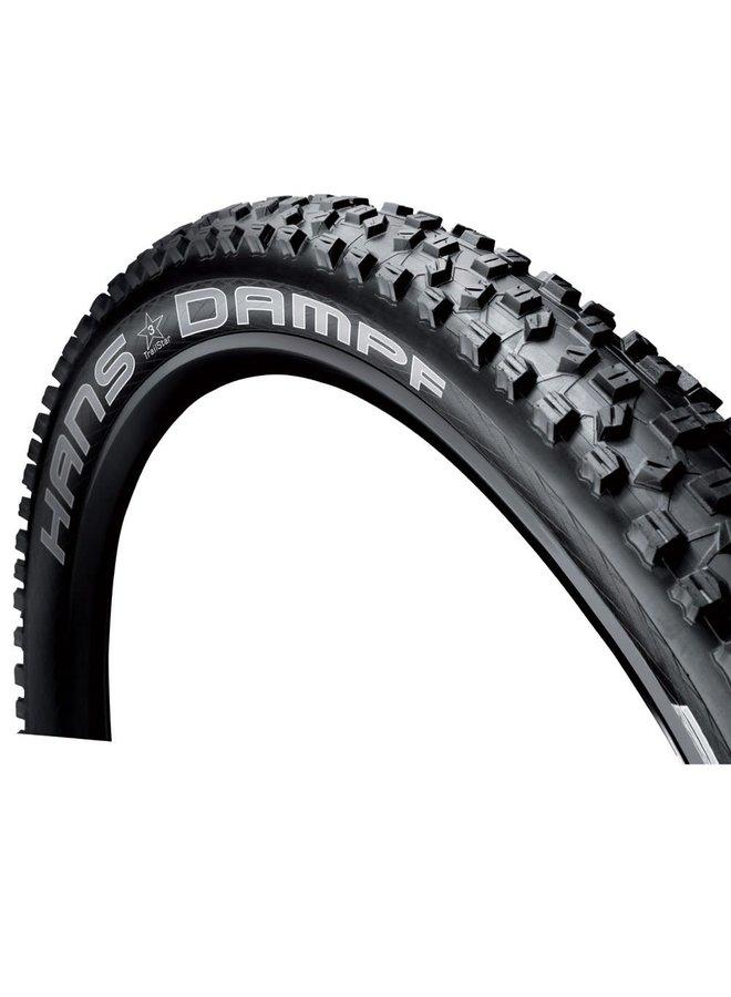Schwalbe, Hans Dampf, Tire, 29x2.35, Folding, Tubeless Ready, Addix Performance, TwinSkin, 67TPI, Black