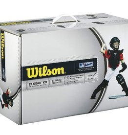 Wilson WILSON EZ GEAR CATCHERS KIT BLACK S/M