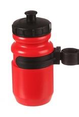 Evo EVO, Tieton, Youth Bottle & Cage, Red
