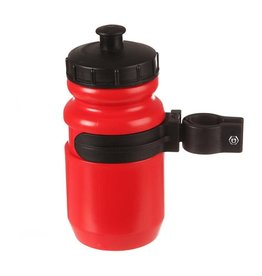 Evo EVO, Tieton, Youth Bottle & Cage, Red